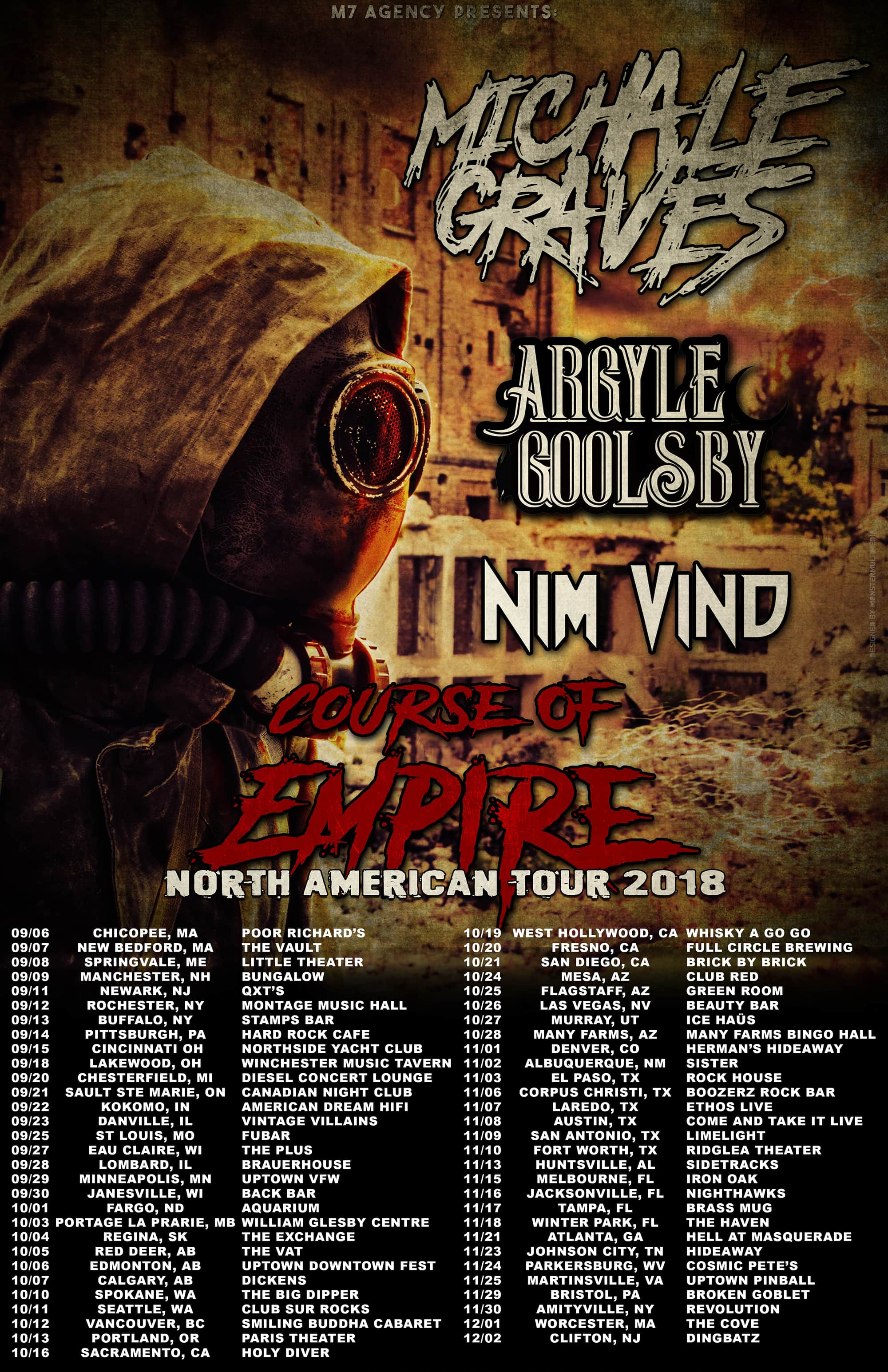 Course of Empire Tour Poster